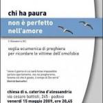 Padova: Veglia omofobia