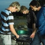 Trekking e barbecue per il fine settimana