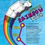 Rainbow Tour  2013 per dire NO all'Omofobia