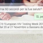 Settimana del test HIV 2015 – European HIV Testing Week Bassano del Grappa