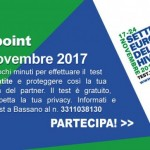 Settimana del test HIV 2017 – European HIV Testing Week Bassano