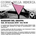 Bassano: Giorno della Memoria 2019 – Il nostro tributo